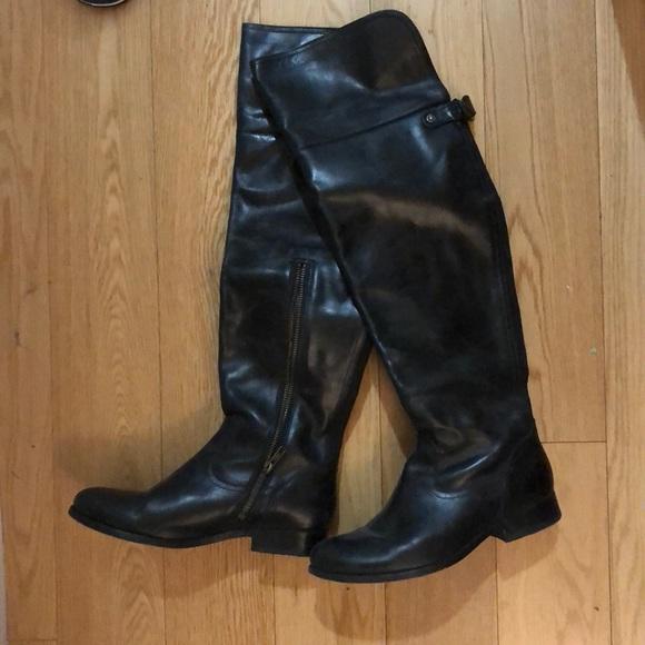 eb21bd8c307 Frye Shoes - Frye Melissa OTK Boots
